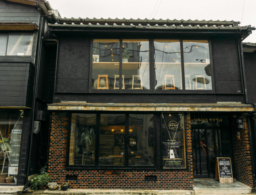Storefront of Shikashima Cycle