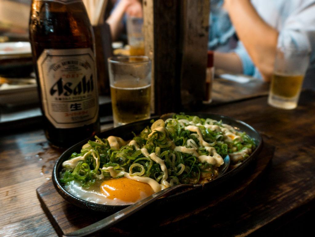 Yakiramen from KENZO yatai food stall in Fukuoka, Japan