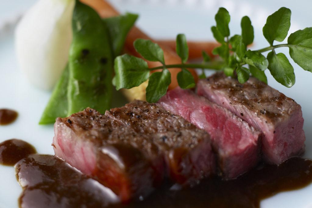 Tajima Beef - Restaurant Ricca at Nishimuraya Hotel Shogetsutei - Kinosaki Onsen ryokan in Japan
