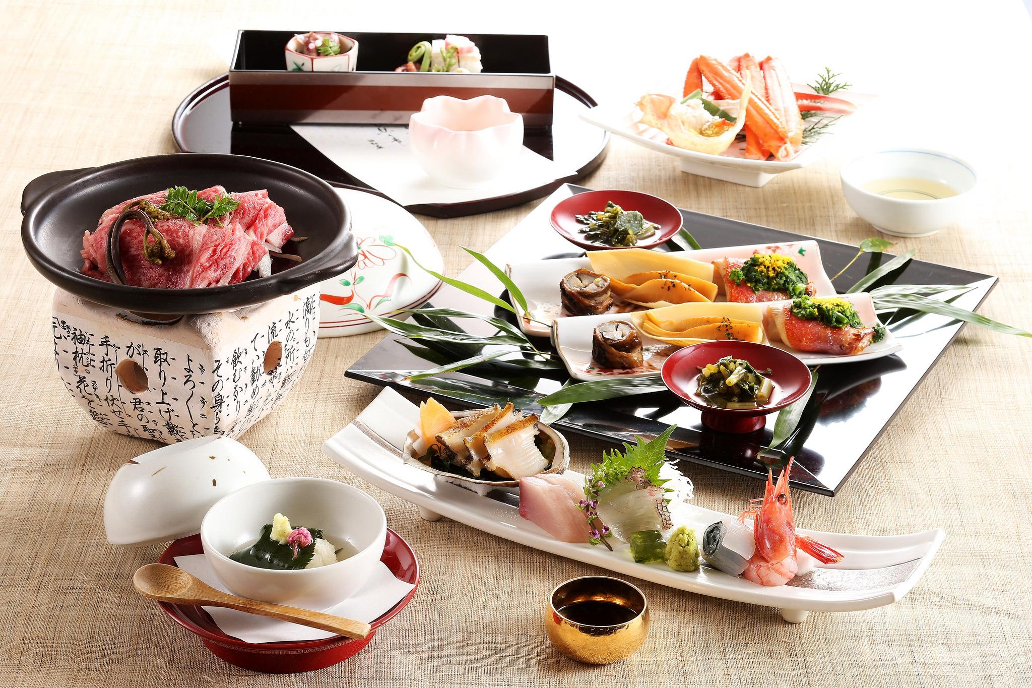 Kaiseki Dining at Nishimuraya Hotel Shogetsutei