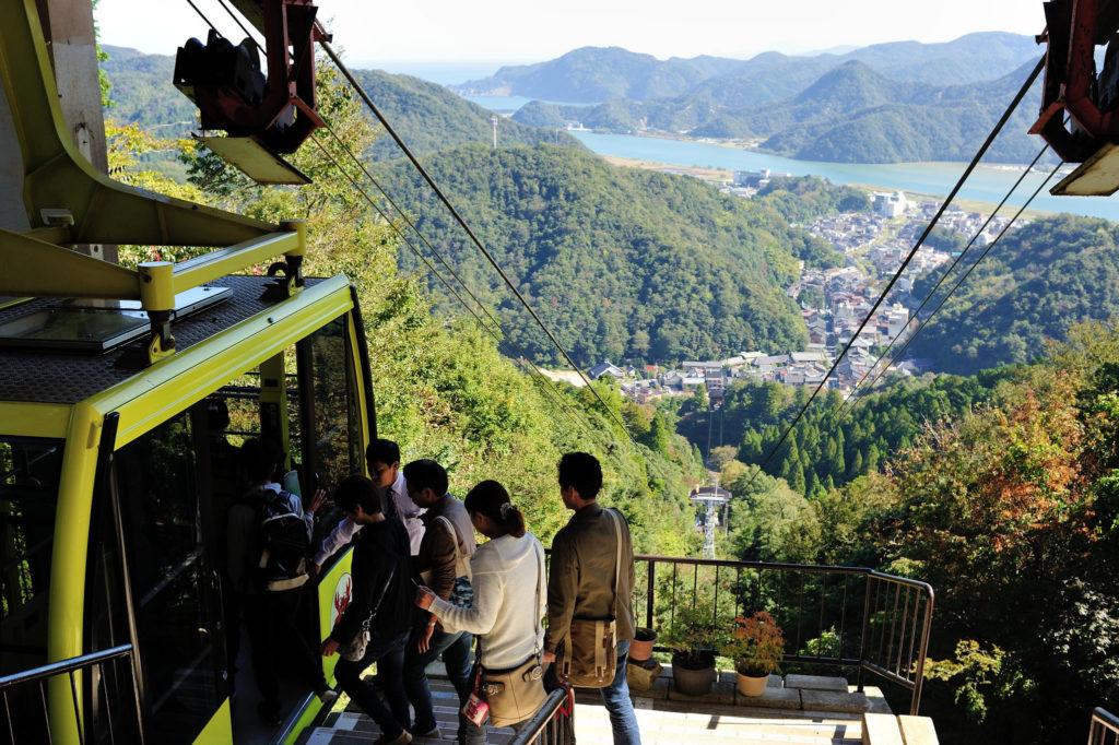 Mt. Daisen Ropeway - Nishimuraya Hotel Shogetsutei- Kinosaki Onsen Ryokan