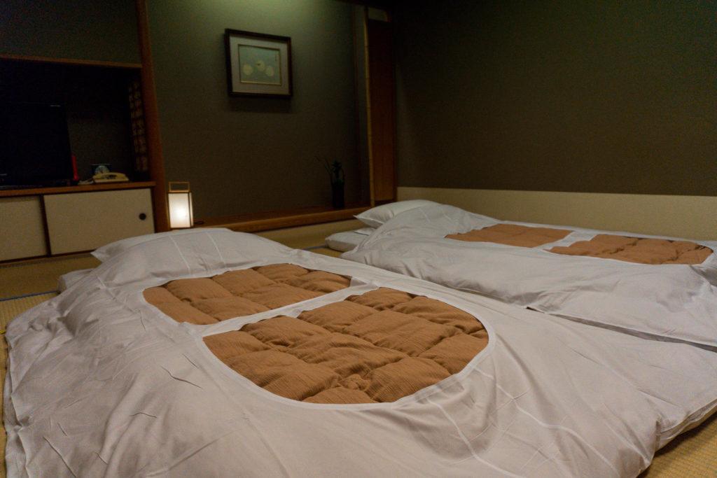 Japanese futons.