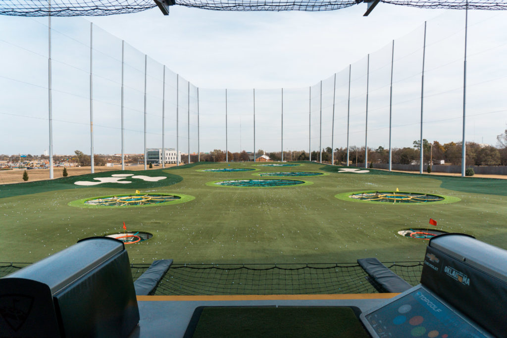 Bay are of TopGolf Oklahoma City
