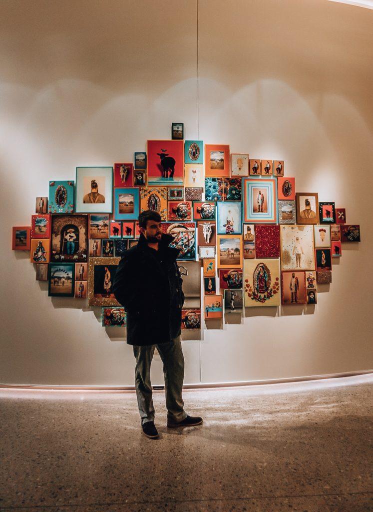 Art Display at the 21c Museum Hotel Oklahoma City