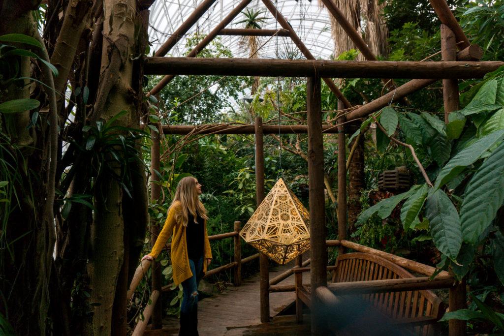 Myriad Botanical Gardens in Oklahoma City