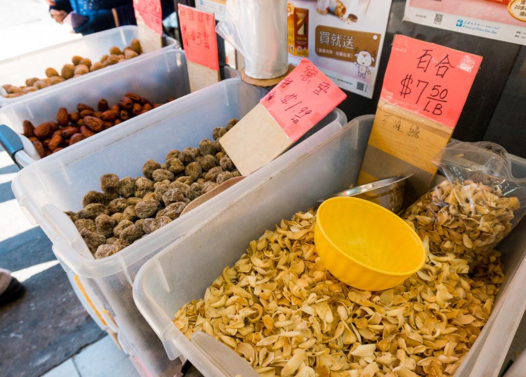 Items at Chinatown San Francisco