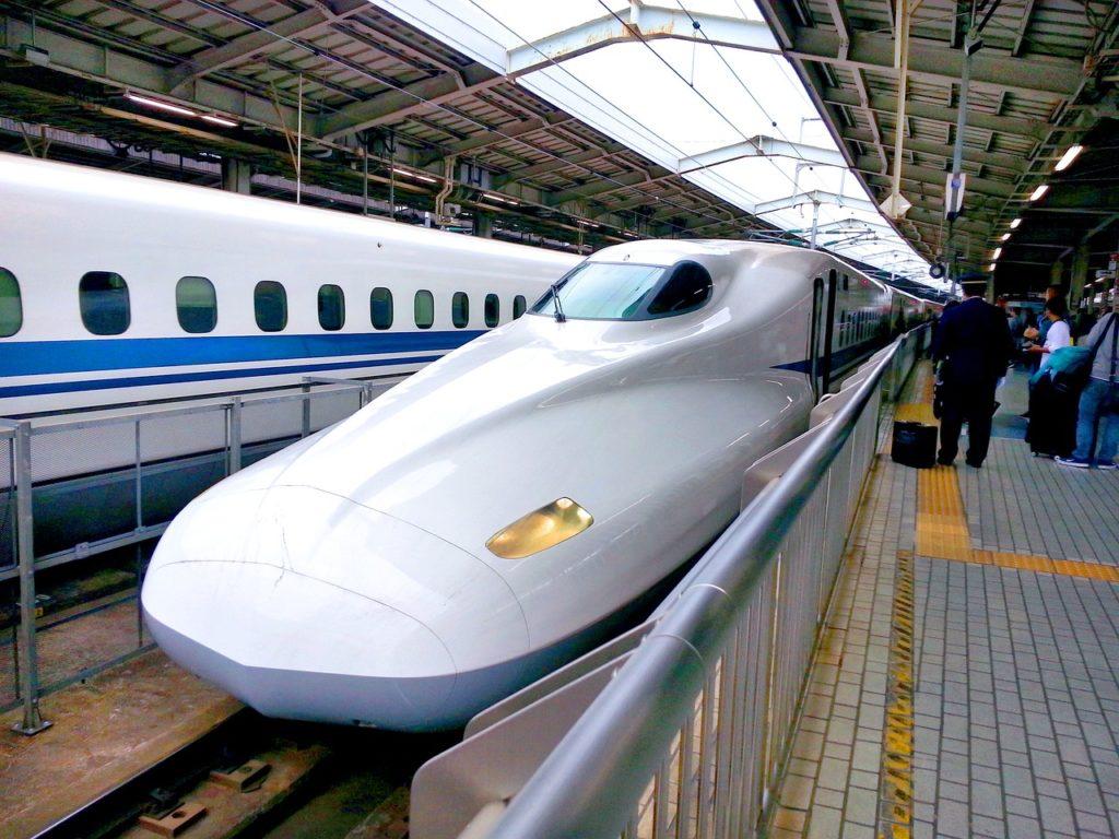 Shinkansen (bullet train) in Japan