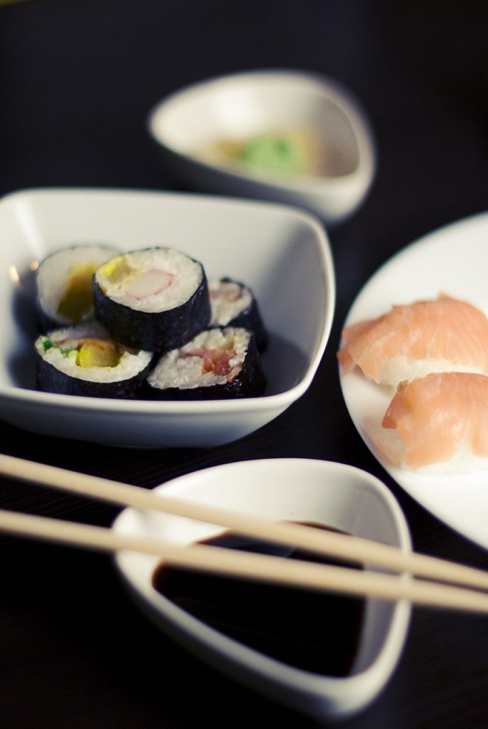 Bowl of sushi