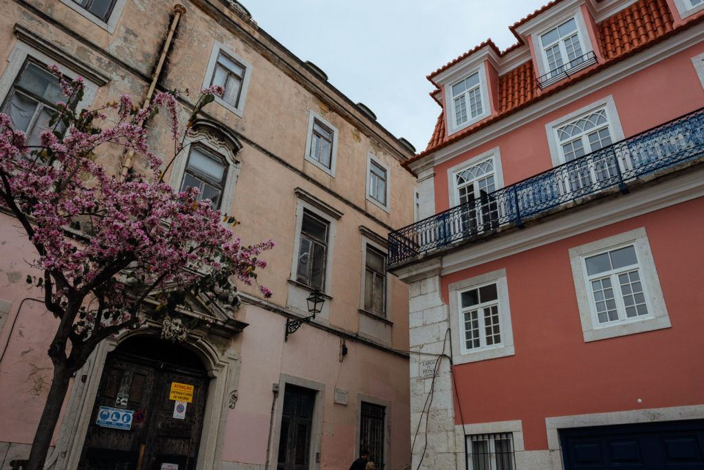 Buildings in Lisbon, Portugal