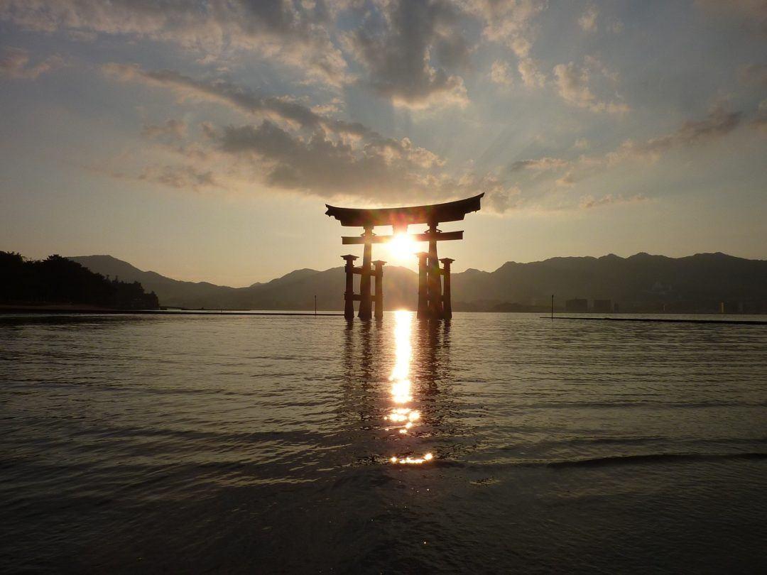 Miyajima Island floating torii gate