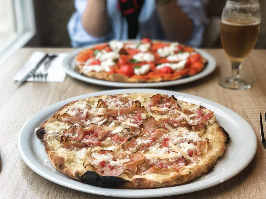 Pizza from Pizzeria Romana al Tavolo - Lisbon itinerary