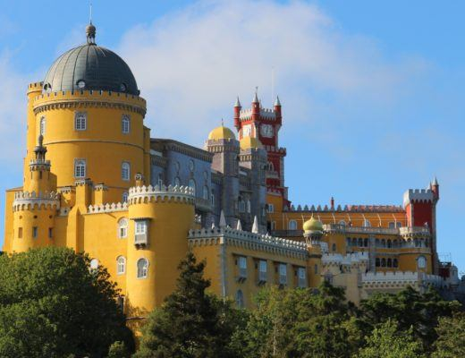 One Day in Sintra, Pena Palace - Sintra, Portugal