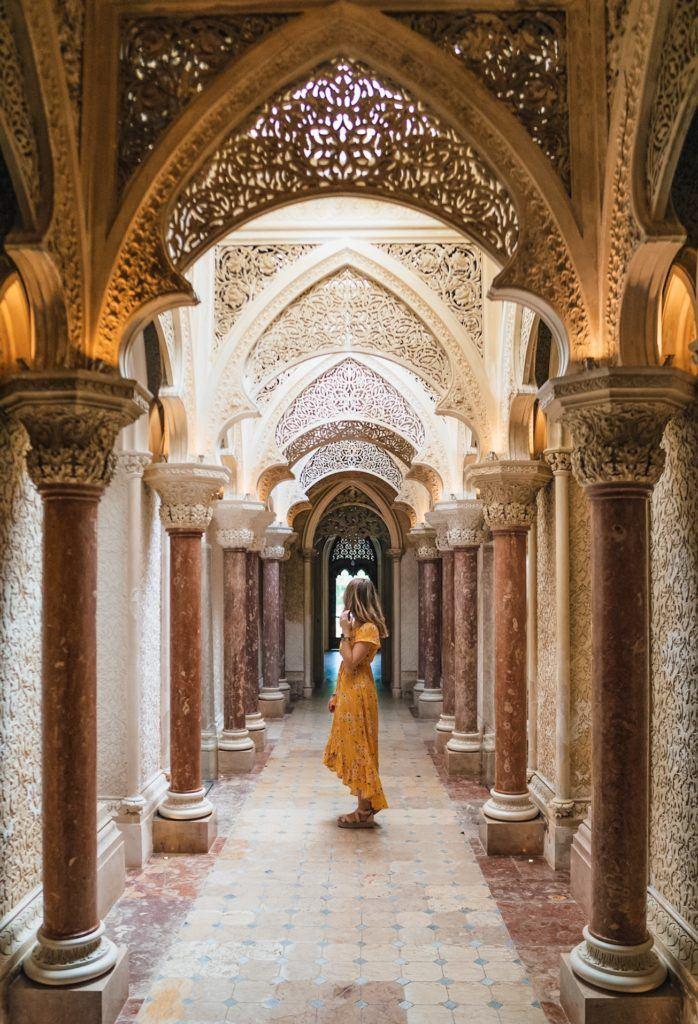 Palacio de Monserrate in Sintra, Portugal