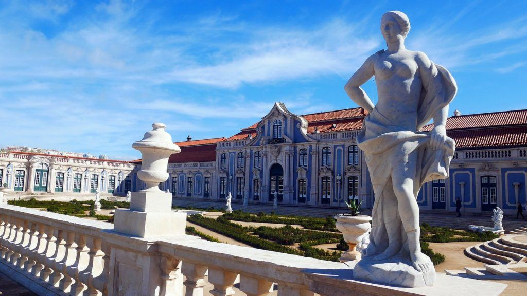 National Palace and Gardens of Queluz - Sintra