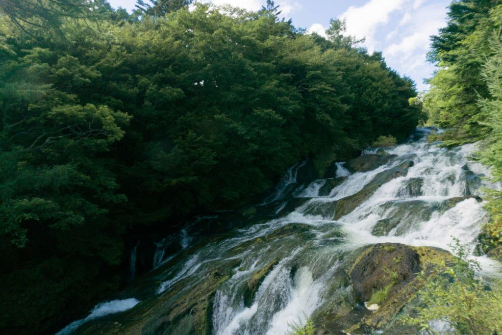 Ryuzu Falls in Nikko, Japan
