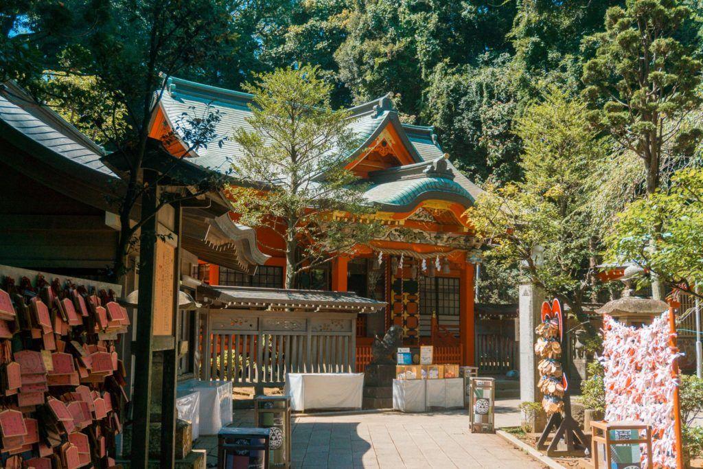 Enoshima Island Shrine