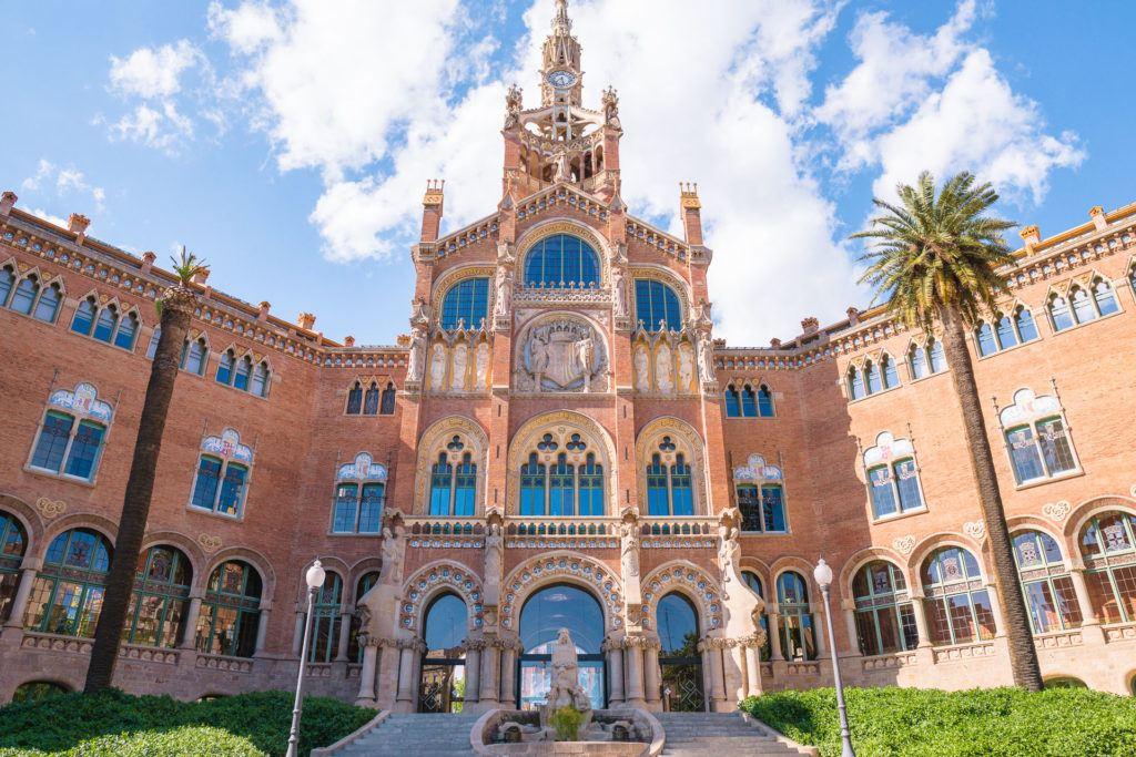Recinte Modernista de Sant Pau in Barcelona
