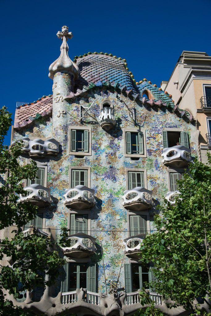 Casa Batlló in Barcelona.