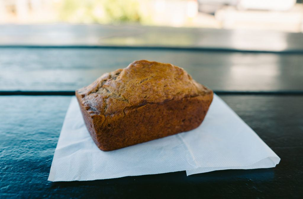 Aunty Sandy's Banana Bread on the Road to Hana in Maui.
