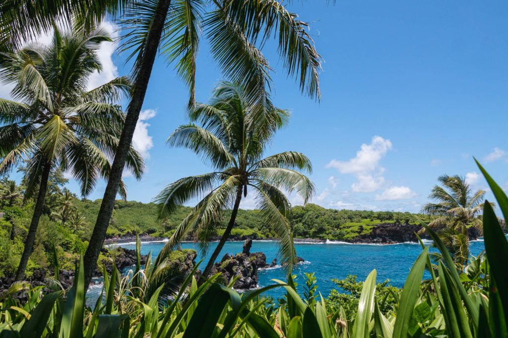 Wai'anapanapa State Park in Maui.