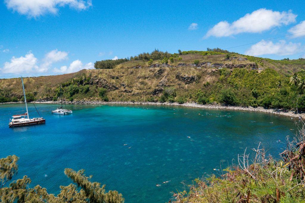 Honolua Bay in Maui