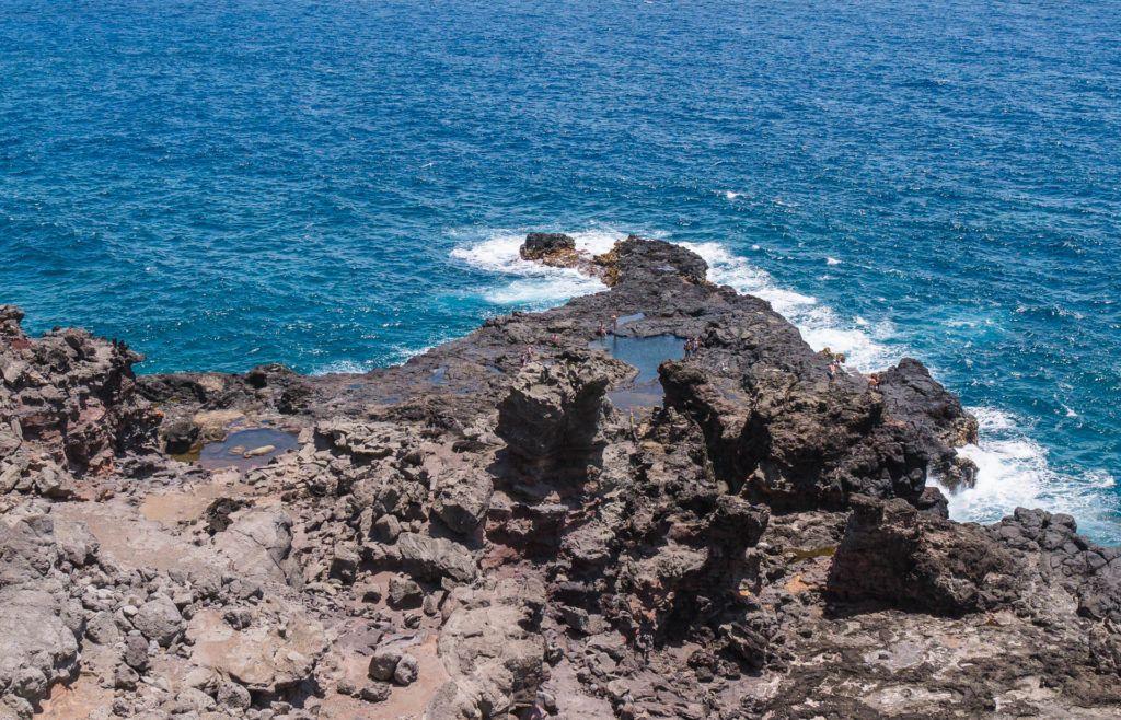 Olivine Tide Pools in Maui.