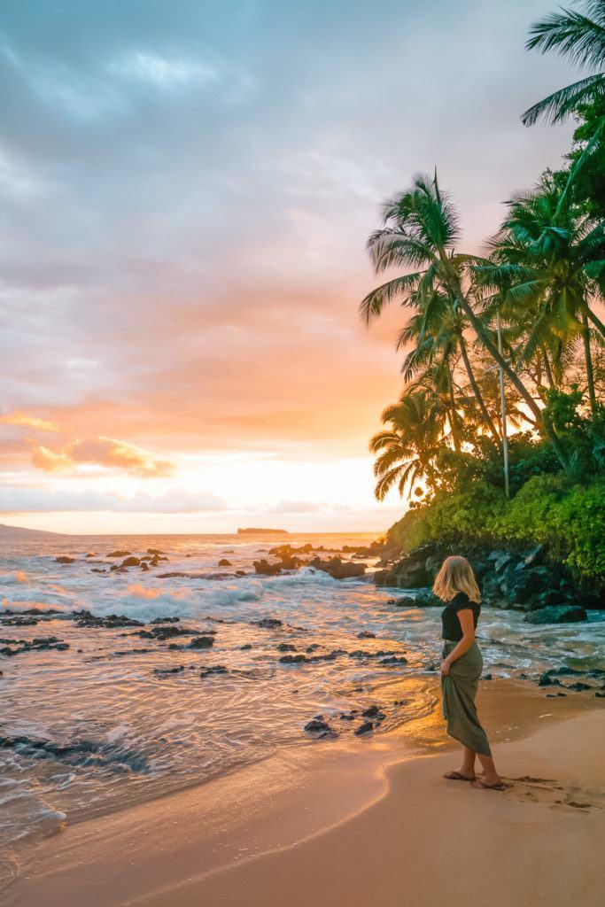 Secret Beach in Maui, Hawaii