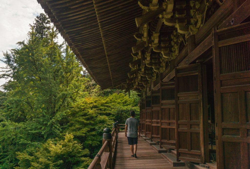 Shoshazan Engyoji Temple in Himeji, Japan