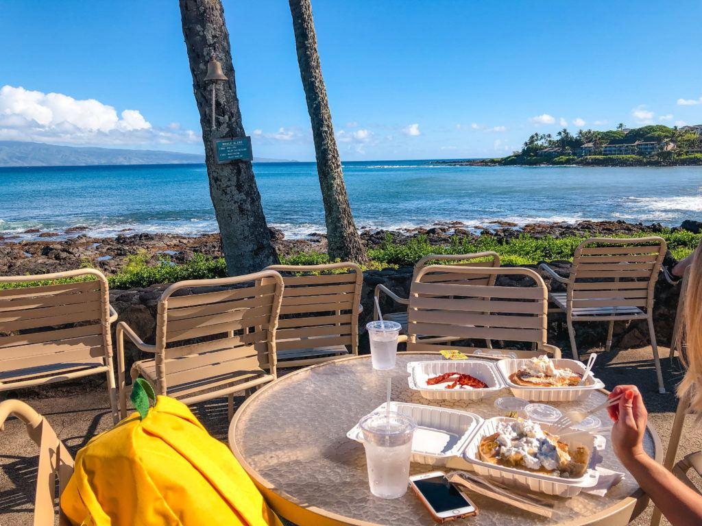 Gazebo Restaurant in Maui.