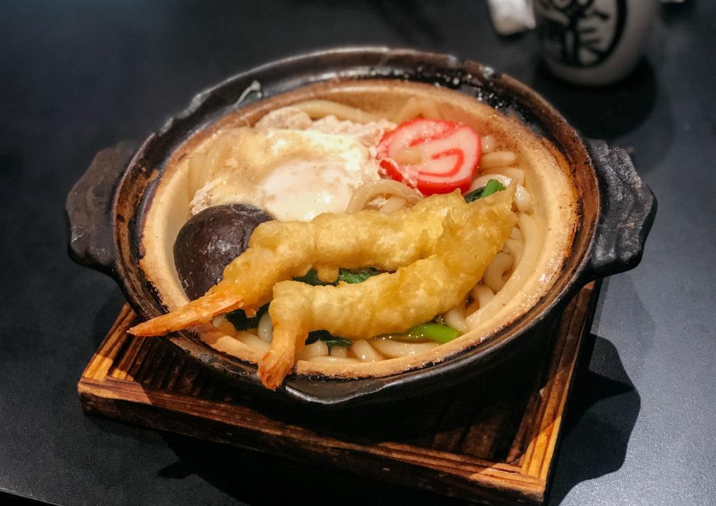 Shrimp Tempura Udon at Izakaya Genbe in Maui