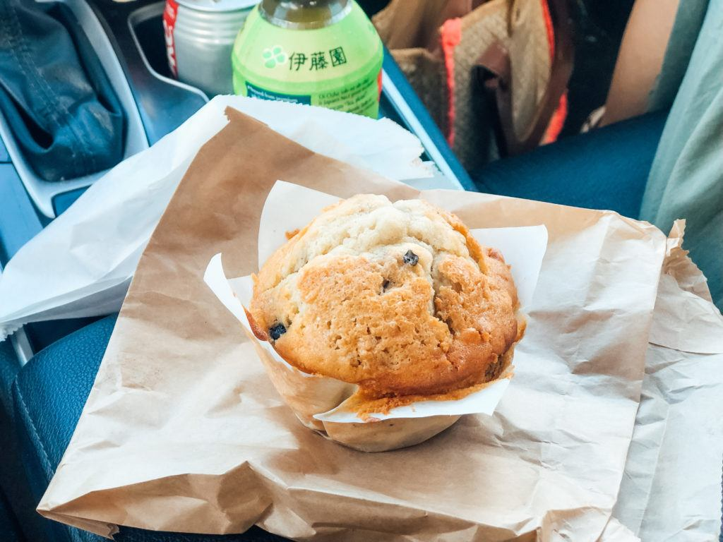 Blueberry muffin from Sugar Beach Bakery in Maui.