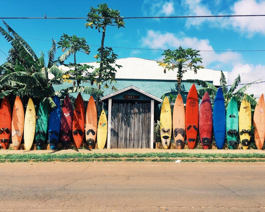 Paia Village in Maui