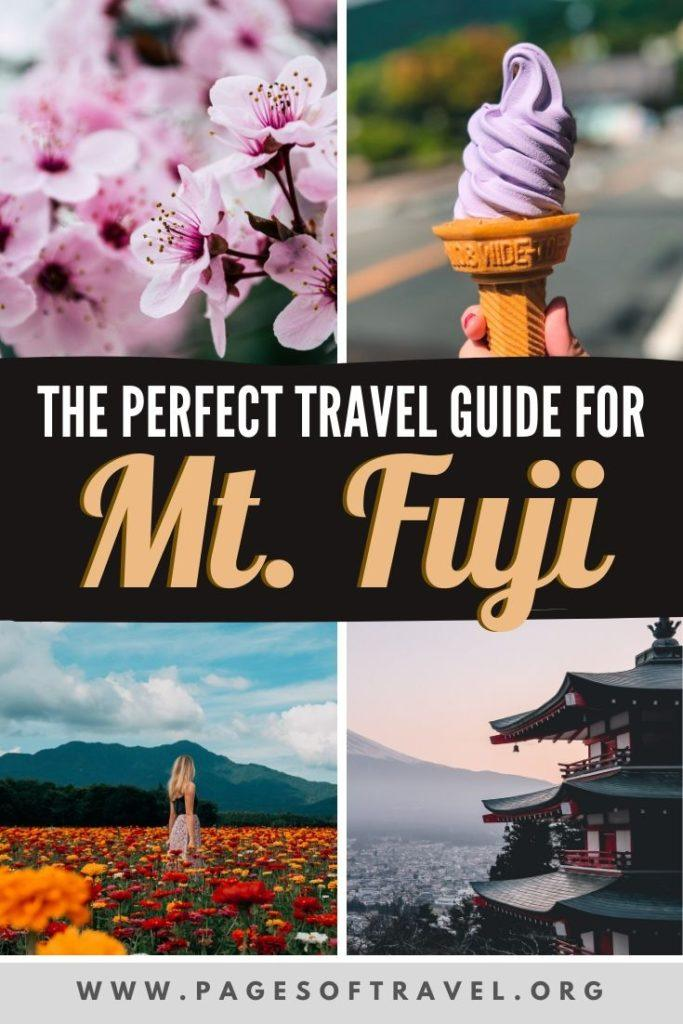 This Fuji Five Lakes itinerary includes a number of popular things to do in the Mt. Fuji area and how to get to Fuji from Tokyo.