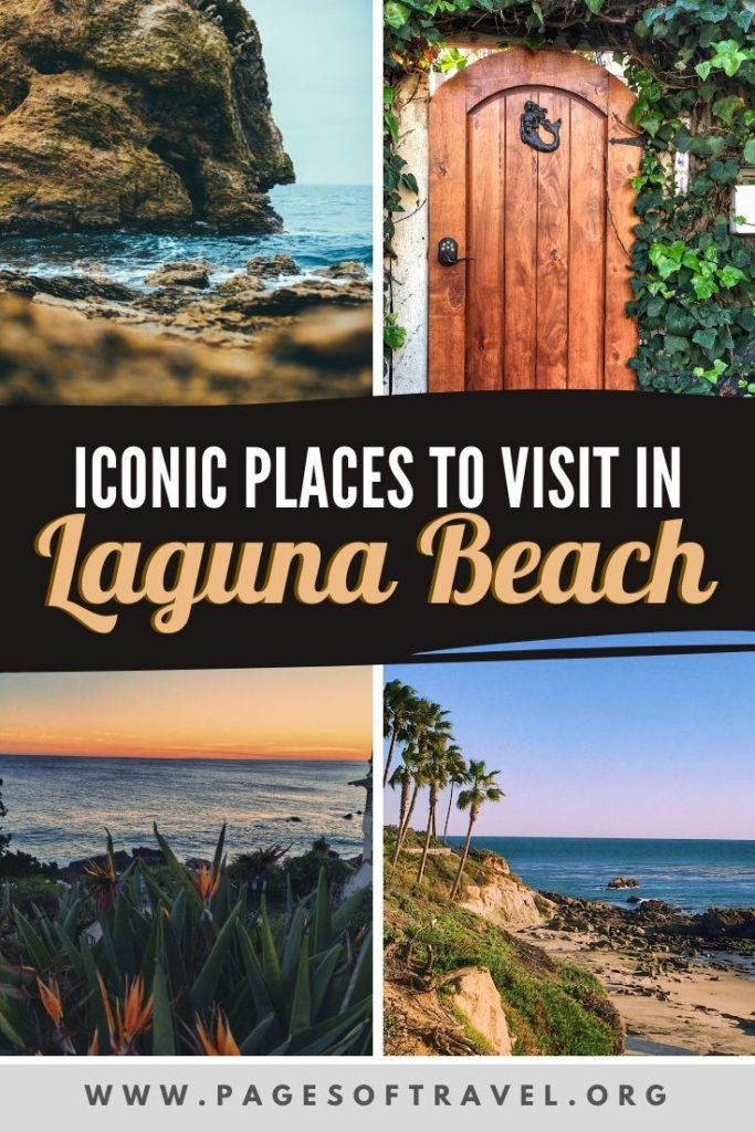 Laguna Beach, California is a small coastal city located south of Los Angeles. It is well-known for its beaches, art galleries, fantastic dining, and eclectic shopping. Here are just a few of the iconic tourist spots in and around Laguna Beach.
