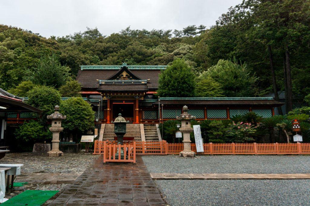 Kishu Toshogu Shrine in Wakayama, Japan.