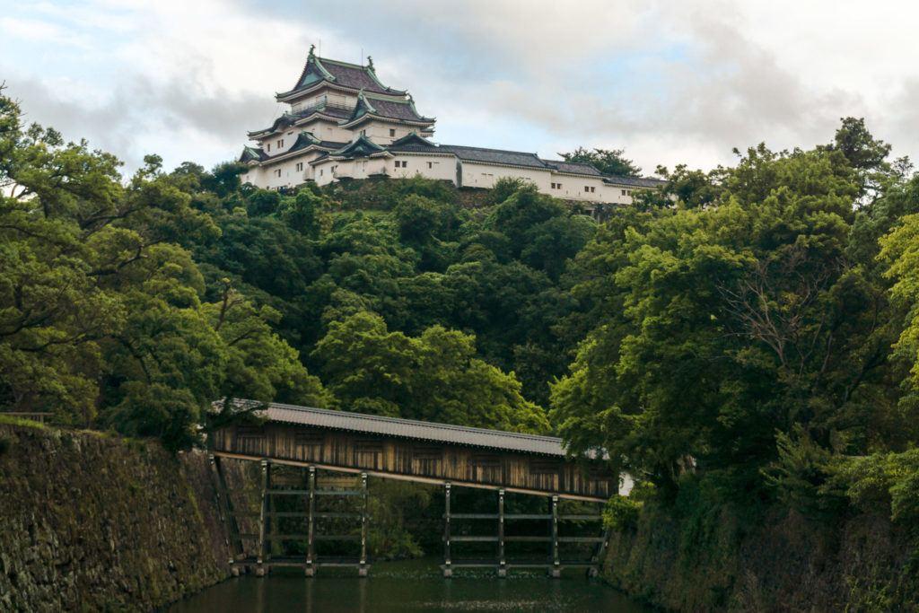 Ohashi Roka Bridge and Wakayama Castle