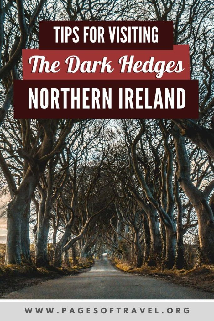 Many may recognize The Dark Hedges as one of the Game of Thrones filming locations in Northern Ireland as it was used as The Kingsroad in season two. If you are planning a trip to Ireland and happen to visit Northern Ireland as well, you cannot afford to miss visiting The Dark Hedges, especially at sunrise or sunset. Here's everything you need to know about visiting The Dark Hedges.