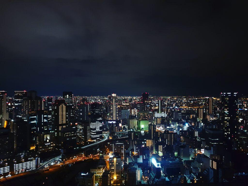 View from Umeda Sky Building.