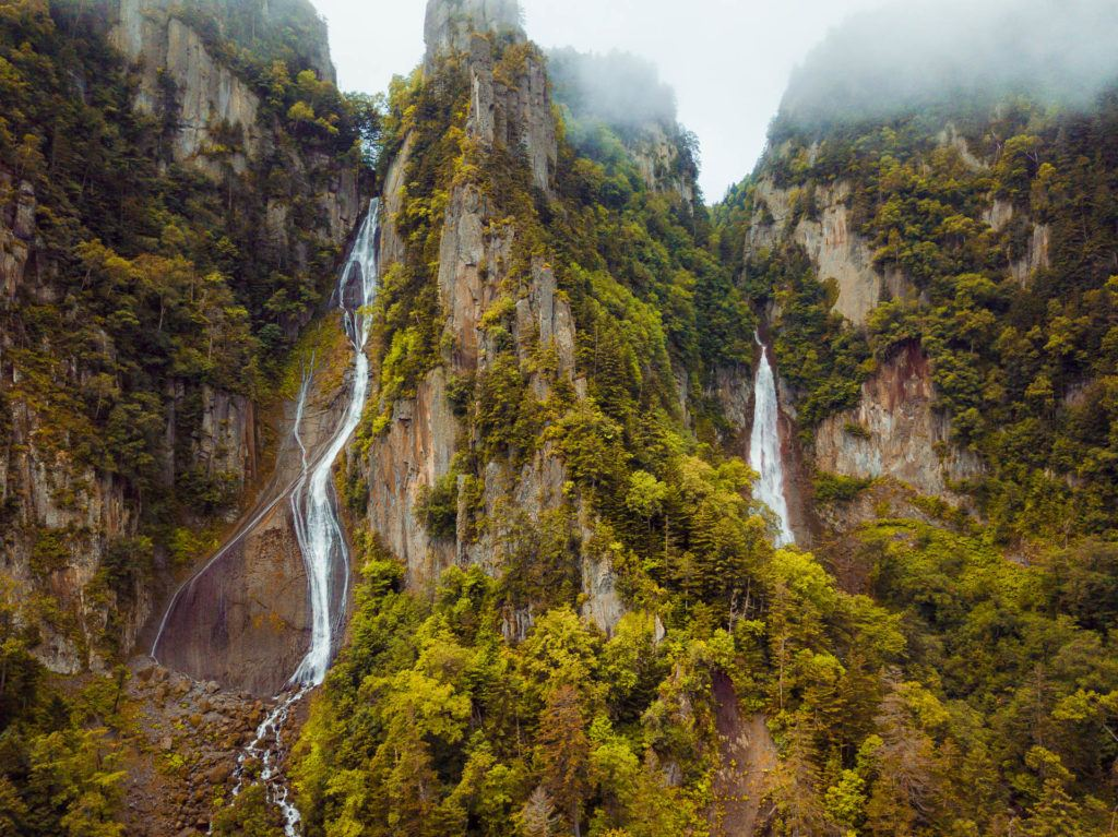 Ginga Falls at Daisetsuzan National Park