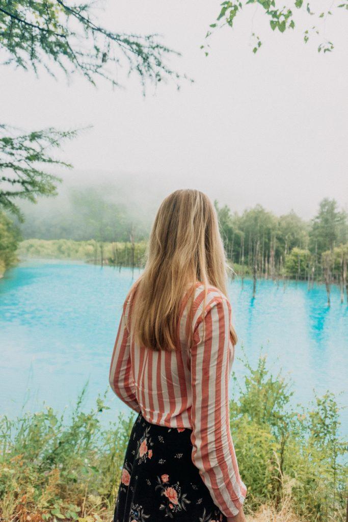 Shirogane Blue Pond - Hokkaido