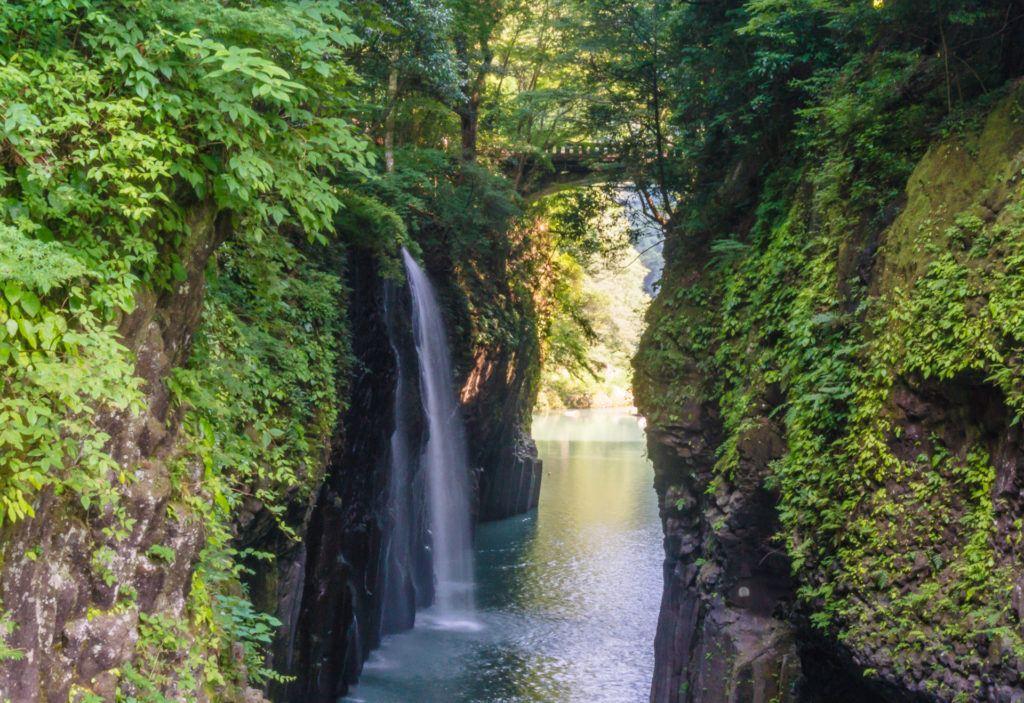 Takachiho Gorge in Takachiho