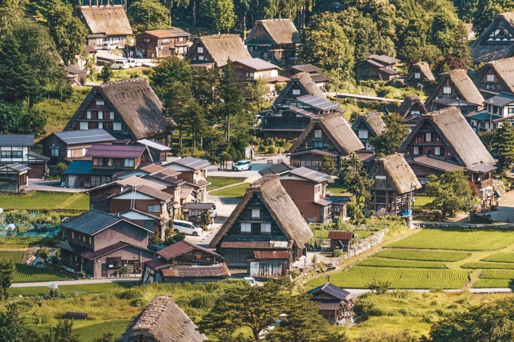Shirakawa Village in Japan