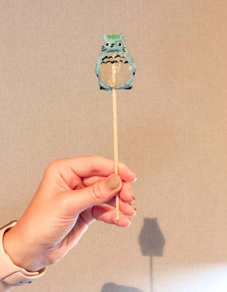 Totoro Amezaiku from Japanese summer festival