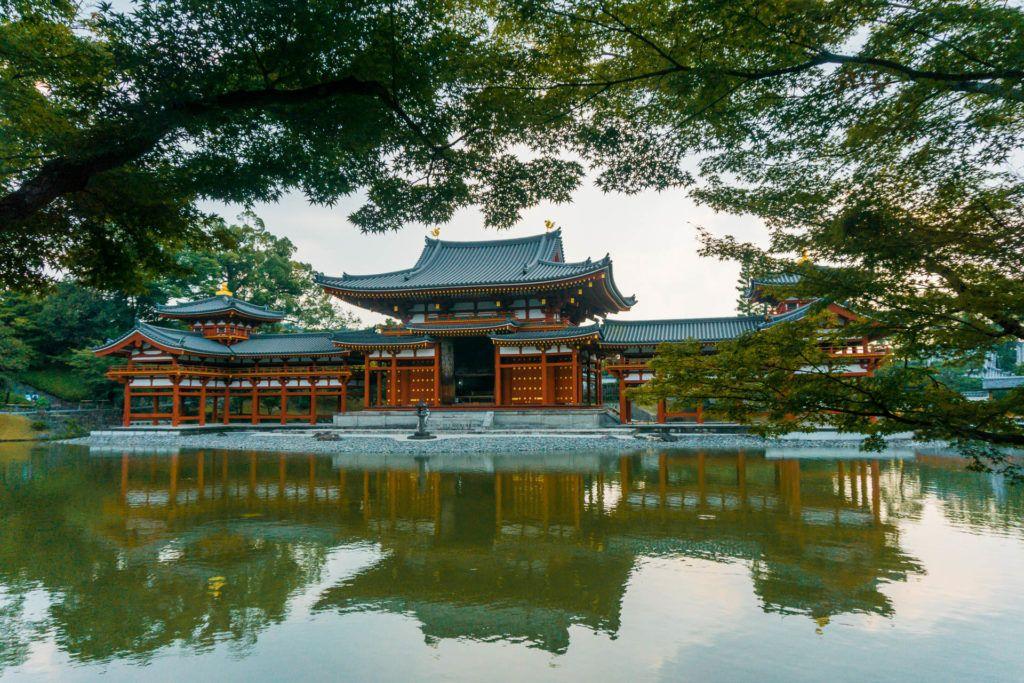 Byodo-in Temple in Uji, Japan