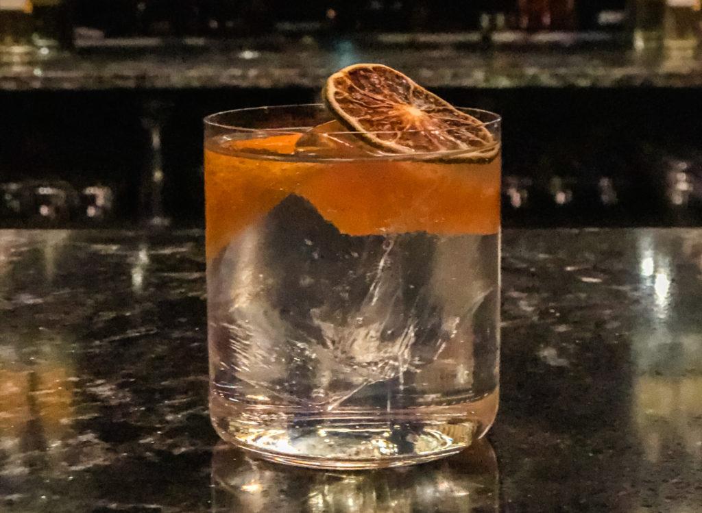 Cocktail from Fox Trail Distillery in Arkansas