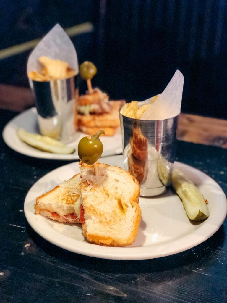 Grilled cheese sandwiches from Hammontree's - best restaurants in Northwest Arkansas