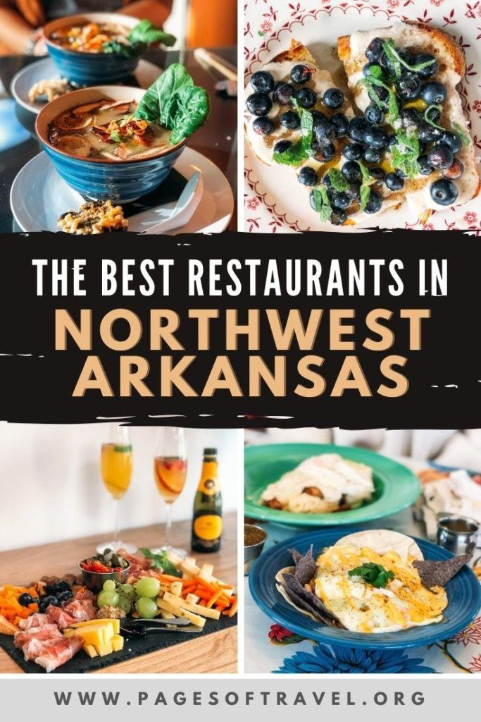 If you are traveling to Northwest Arkansas to visit Fayetteville, Bentonville, or Rogers then you won't want to miss this list of the best restaurants in Northwest Arkansas. These places to eat include breakfast, lunch, dinner, dessert, and even drinks.  Fayetteville | Bentonville | Springdale | Rogers | Arkansas