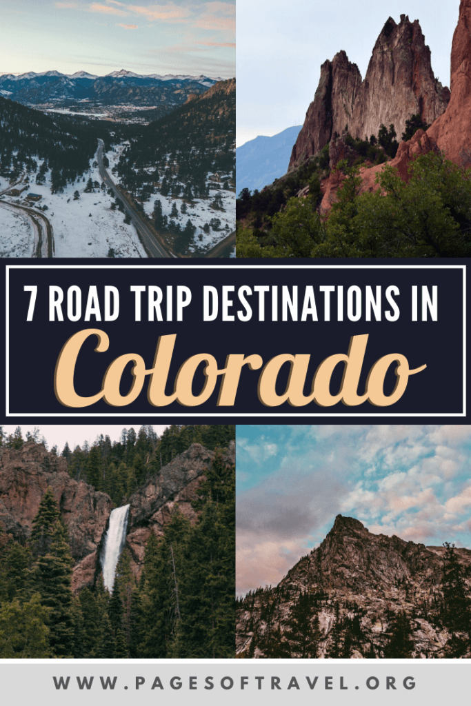 From the serene mountains, epic winding roads, and foodie destinations these places to visit on a Colorado road trip are perfect for your next adventure in Colorado. You'll go through Colorado Springs, Great Sand Dunes National Park, Aspen, Glenwood Springs, Estes Park, Boulder, and Denver!