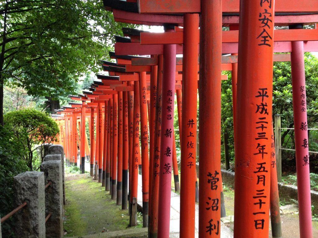 Nezu Shrine in Ueno - Tokyo itinerary