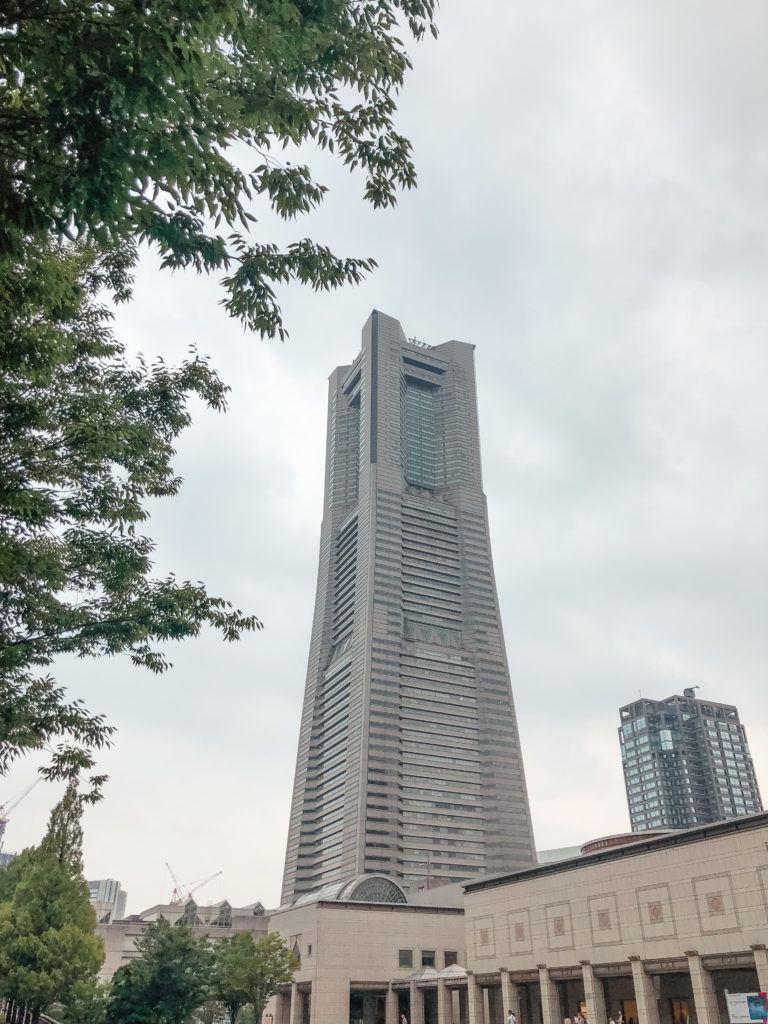 Landmark Tower - Yokohama day trip